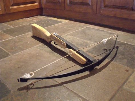 How To Survive Handmade Crossbow - how to build a crossbow trigger