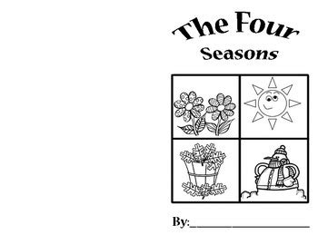 libro the cutting season my four seasons book mi libro de las cuatro estaciones