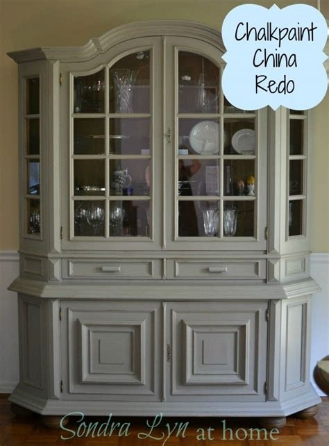 chalk painted china cabinet china cabinet chalk paint makeover7 create