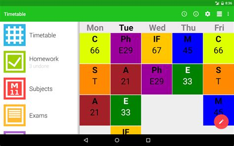 maker for android high school schedule generator gse bookbinder co