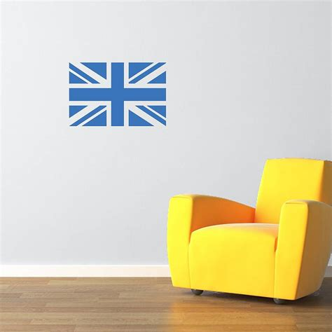 union wall stickers union flag vinyl wall sticker by mirrorin