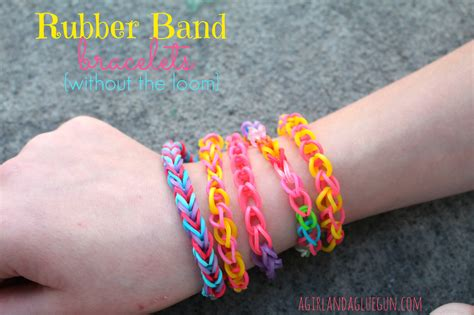 make rubber band jewelry small rubber band crafts without a loom