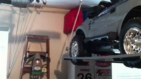 Jeep Roof Hoist Home Made Hoist For Lifting Power Wheels Or Jeep Roof