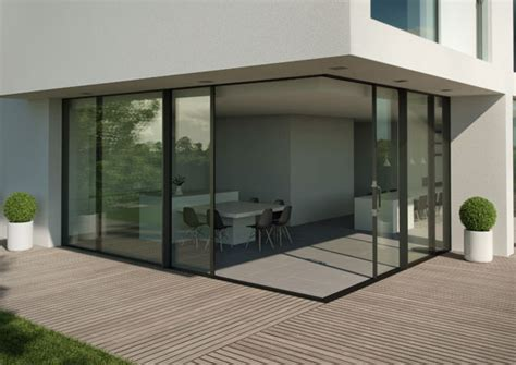 Corner Patio Doors by Aluminium Doors Reynaers At Home