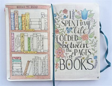 bullet journal a books read page pen pages apuntes leer y libros top 5 bujo ideas in 2016 bullet journal