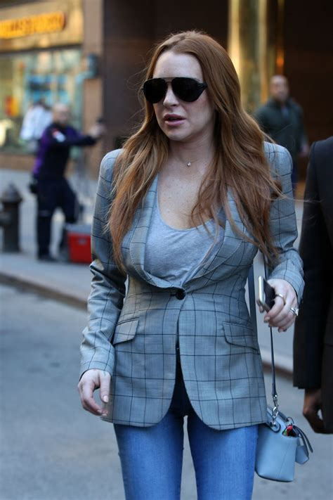 Lohans New by Lindsay Lohan Out In New York 04 15 2016 Hawtcelebs