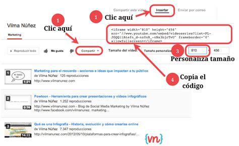 wordpress tutorial youtube 2013 agregar una lista de reproducci 243 n de youtube en pesta 241 a de