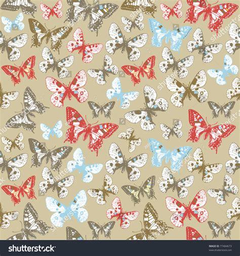 butterfly pattern stock butterfly seamless pattern stock vector illustration