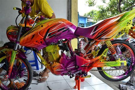 Tiger Modifikasi Drag by 30 Gambar Modifikasi Motor Tiger Gagah Keren Modif Drag