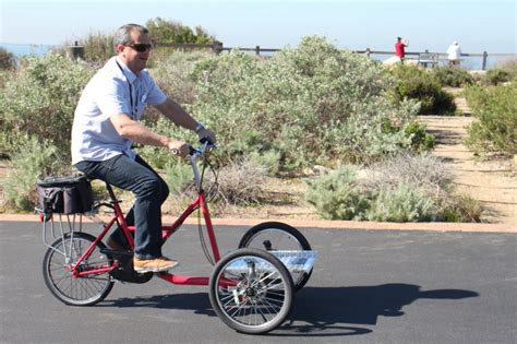 3 Wheel Electric Cargo Bike by The Interbike Electric Bike Media Event Up At The