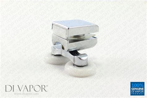 Quadrant Shower Door Rollers Di Vapor R Quadrant Shower Door Roller 6mm To 8mm Glass Zinc