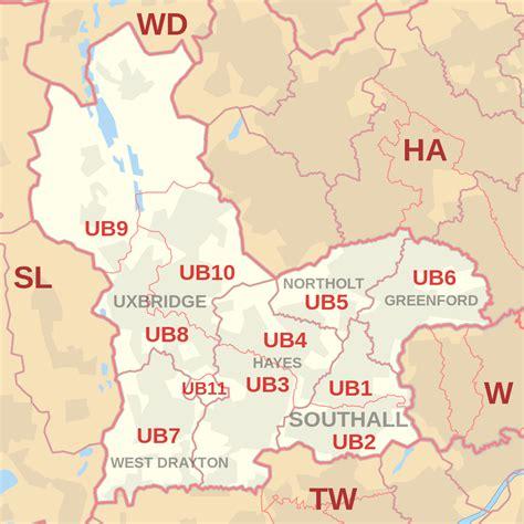 Ub Search File Ub Postcode Area Map Svg Wikimedia Commons