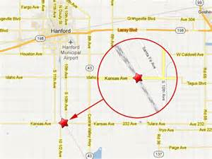 map of hanford california from hanford california
