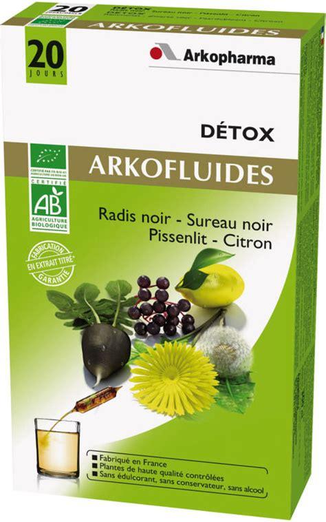 Par Detox Center by Arkofluides Bio Detox 20 Oules Arkopharma Doctipharma