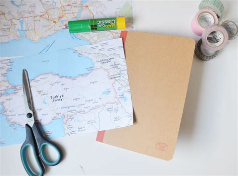 diy un carnet de voyage vintage