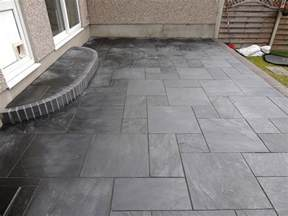 black slate tile outdoor patios freshouz