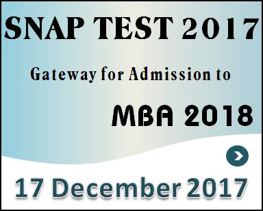 Snap Test For Mba by Snap Test 2017 Best Preparation Tips To Ace The