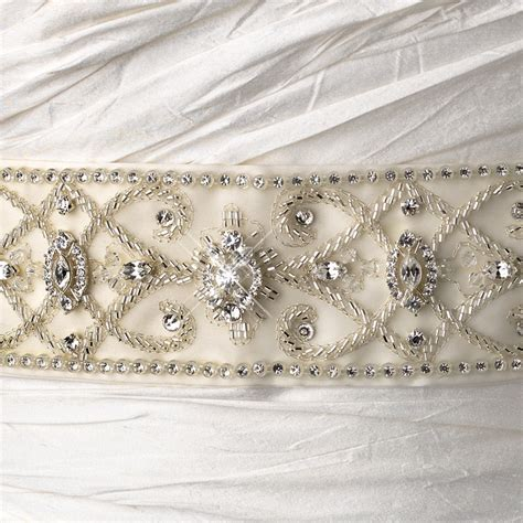 wholesale wedding belts bridal sashes mariell bridal party vintage beaded wedding sash bridal belt 13