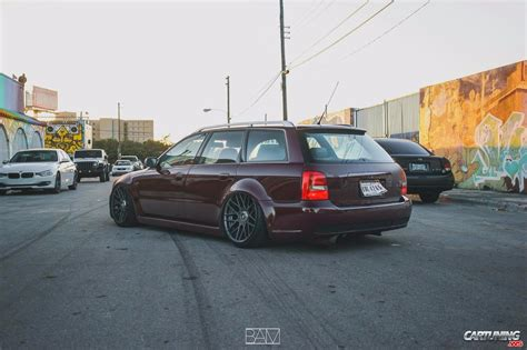 audi rs4 b5 tuning audi rs4 b5 on air rear view