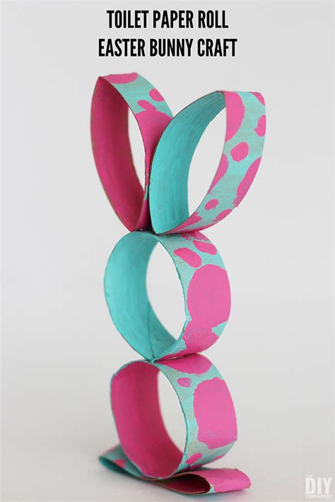 Toilet Paper Roll Bunny Craft - toilet paper roll easter bunny craft