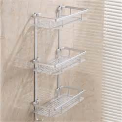 hanging cosmetic make up shower rack storage aluminium