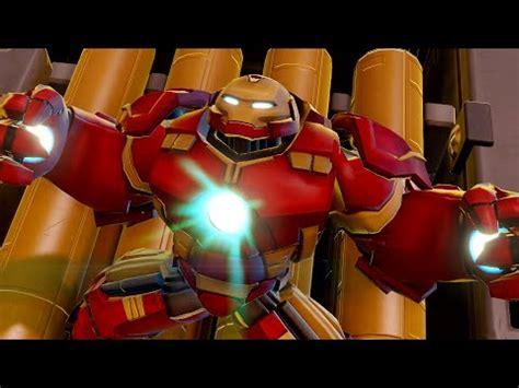 disney infinity marvel battlgrounds hulkbuster iron