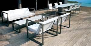 salon de jardin inox table salon de jardin inox qaland