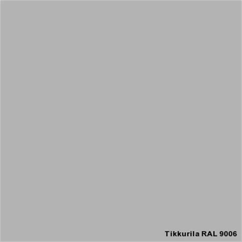 Gray Paint Color by Ral 9006 Ral Classic Tikkurila Industrial Coatings