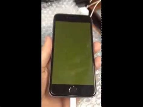 yellow screen of iphone 6 fix
