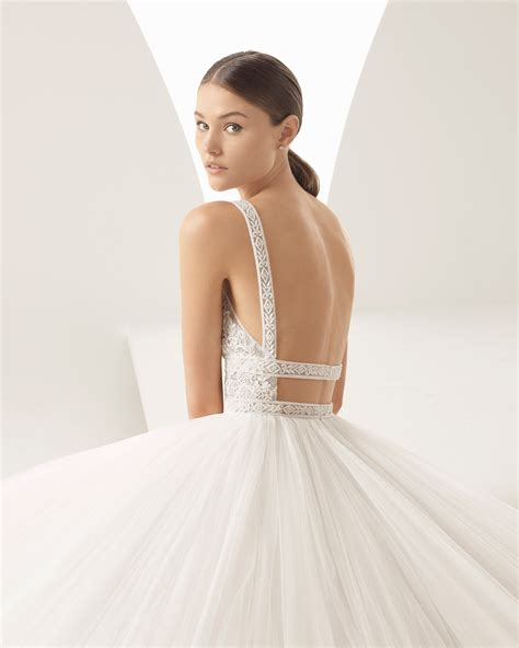 hochzeitskleid rosa clara alada 2018 bridal collection rosa clar 225 collection