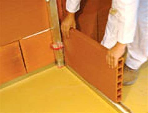 Briques Pour Cloisons by Briques Terre Cuite Implanter Facilement Des Cloisons
