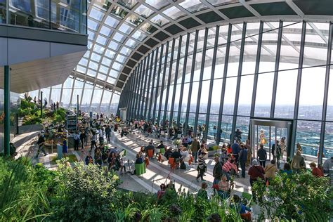 what s in the walkie talkie building from the sky garden