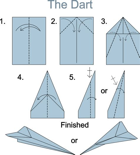 How To Make A High Flying Paper Airplane - best paper airplane for distance studio design