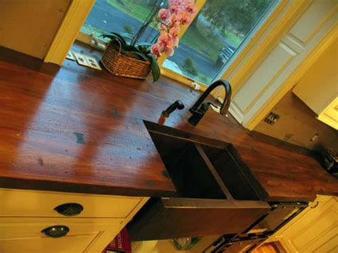Wood Like Countertops by Wood Kitchen Countertops It S Concrete