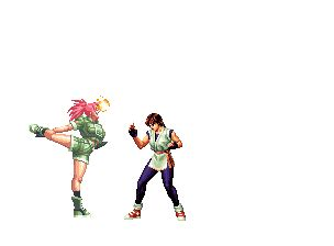 imagenes gif kyo archivo leona gif the king of fighters wiki fandom