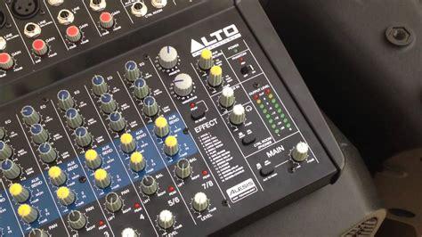Mixer Audio Merk Alto alto truesonic pa with zmx122 fx mixer funnydog tv