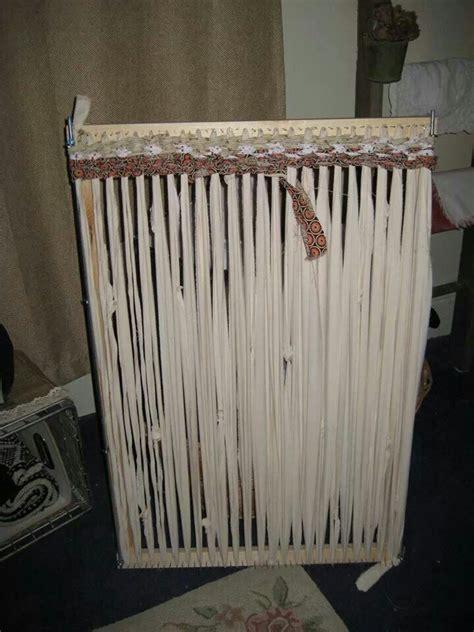 how to make a rag rug loom rag rug loom must make one craft ideas