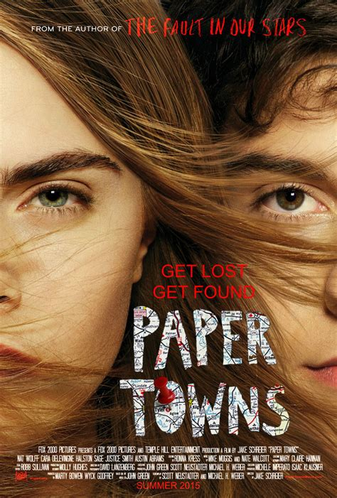 Green Paper Towns paper towns the whisperer mumbles filmfisher