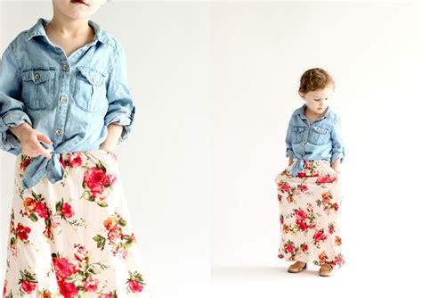 toddler maxi skirt