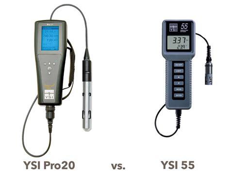 Do Meter Ysi dissolved oxygen meter selection more than sensor technology