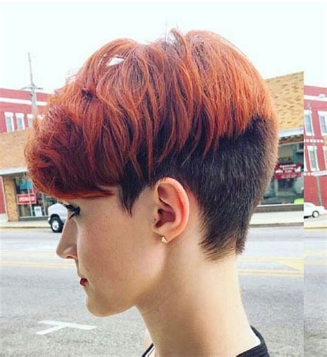 two color pixie cut 20 shorter hairstyles perfect for thick manes popular