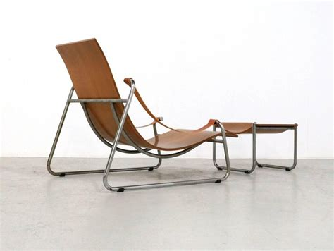 Plywood Lounge Chair And Ottoman by Plywood Lounge Chair And Ottoman 1950s Tubular Nickel