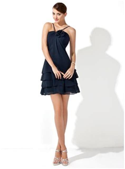 Dress Mini Flowery Navy Fetira Dress Bunga Navy Fetira a line princess v neck mini chiffon bridesmaid dress with flower s 007000915 jjshouse