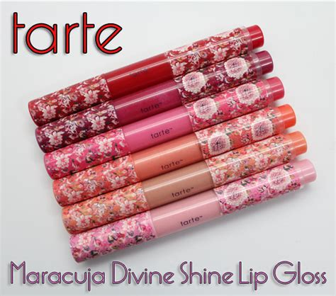 Tarte Inside Out Vitamin Lipgloss by Tarte Maracuja Shine Lip Gloss For 2012