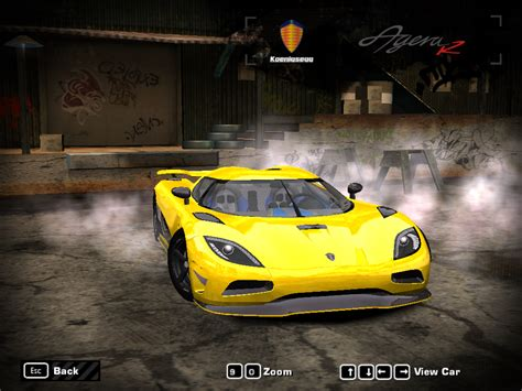 koenigsegg agera need for speed pursuit need for speed most wanted koenigsegg agera r ii nfscars