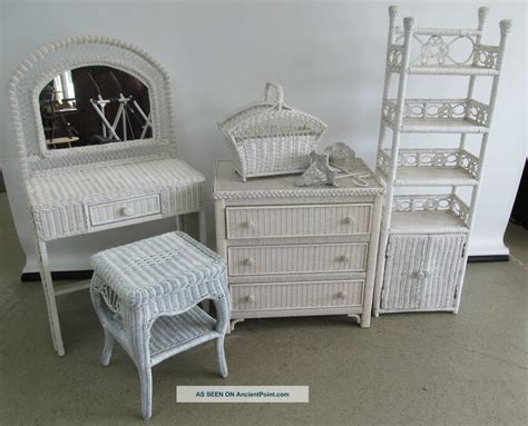 White Wicker Bedroom Set | white wicker bedroom set henry link white wicker bedroom furniture 63 home