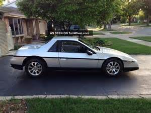 Does Chevy Make Pontiac 1984 Pontiac Fiero V8