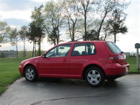 volkswagen hatchback 1999 buy used 1999 volkswagen golf gti hatchback 2 door 2 0l in