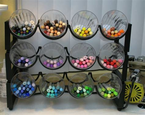 Colorful Kitchen Canisters 30 diy storage ideas for your art and crafts supplies