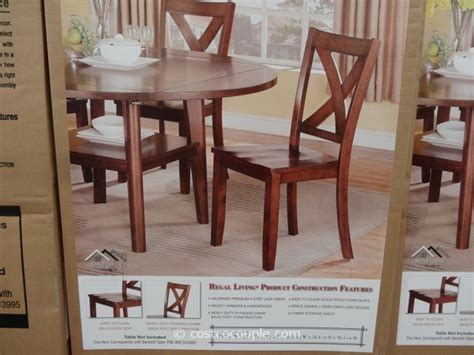 regal living regal living beckett dining chairs